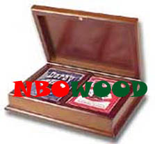 Wooden Card Boxes Wooden Card Boxes Chip Poker Box