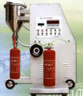 extinguisher powder filling machine