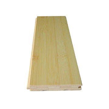 Natural Horizontal Bamboo Flooring Matte Finished