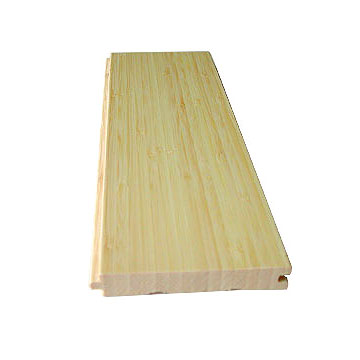 Natural Vertical Bamboo Flooring Matte Finished