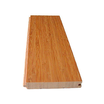 Carbonized Vertical Bamboo Flooring Matte Finished