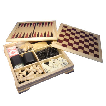 7-In-1 Wooden Chess Sets