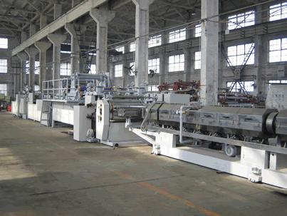 set of aluminum composite panel production line