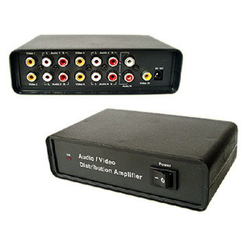 Audio - Video Distribution Amplifier