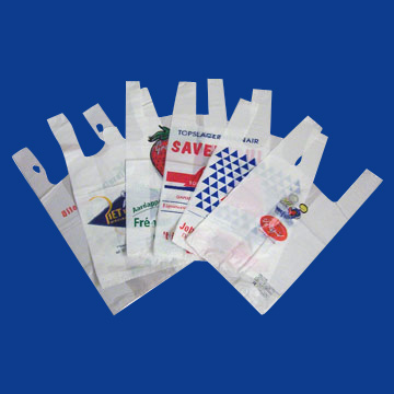 HDPE-LDPE T-Shirt Bag