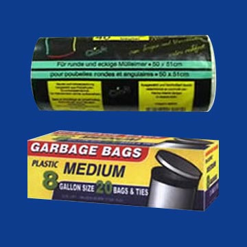 HDPE - LDPE Star Seal Garbage Bag