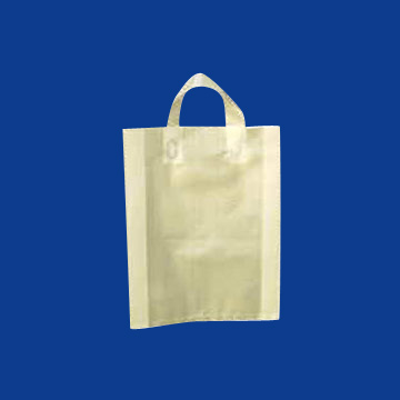 HDPE-LDPE Soft Loop Handle Bag