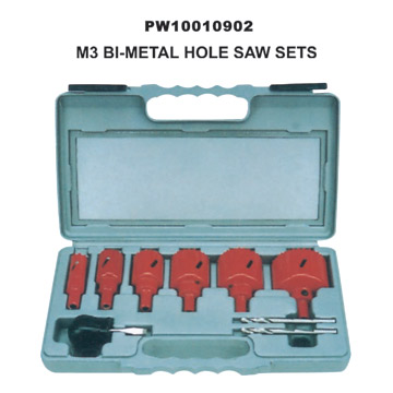M3 Bi-Metal Hole Saw Kits