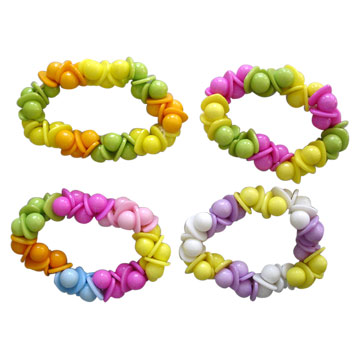 Poly Beads Hair Ornaments