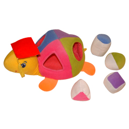Baby educational soft toys