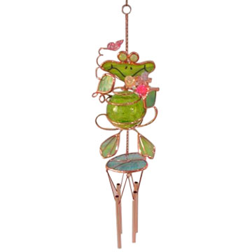 Stained Glass Wind Chimes