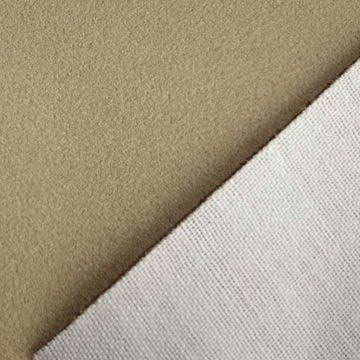 Micro Weft Suede Fabric with T/C Bonded