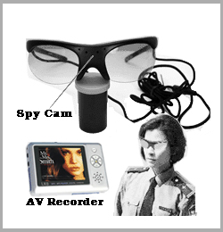 Spy Sunglasses Camera With Mp4 Recording, Secuirty Surveillance Device
