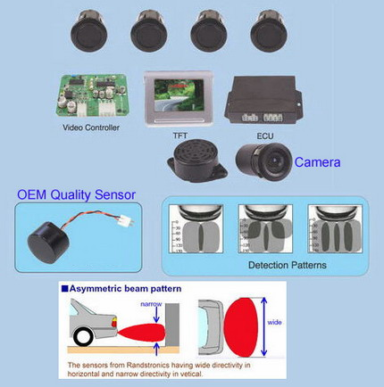 OEM quality multimedia parking sensor