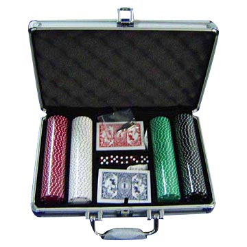 200pcs Aluminum Case Sets