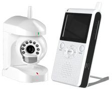850P (2.4GHz wirless baby monitor)