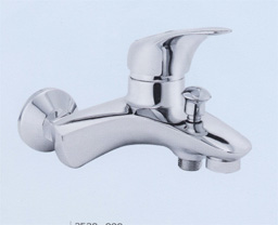 Single handle thermostat faucet