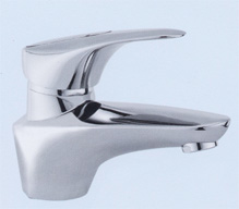 Single handle single hole thermostat washbasin faucet