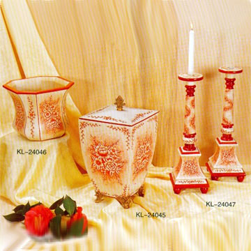 Candle Holder and Jewel Box