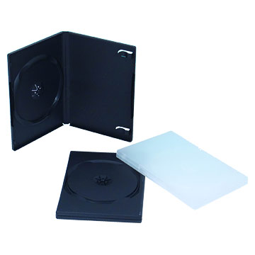 Black Double DVD Cases
