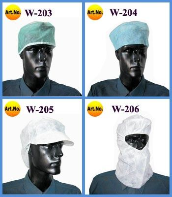 Shower Cap, Doctor Cap, Nurse Cap, Bouffant Caps