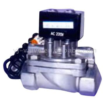 Dual-Flow Explosion-Proof Solenoid Valve for Dispensers