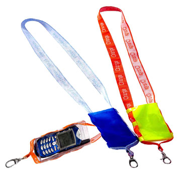 Multi-Function Lanyards With Mobile Phone Holders