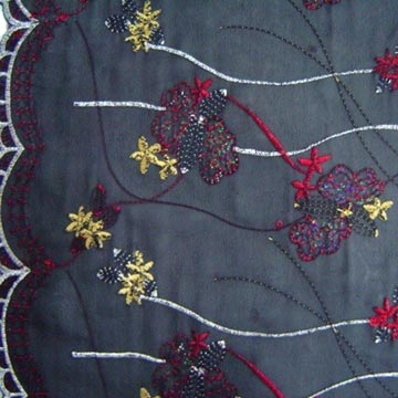 Big Gold Spangle Embroideries