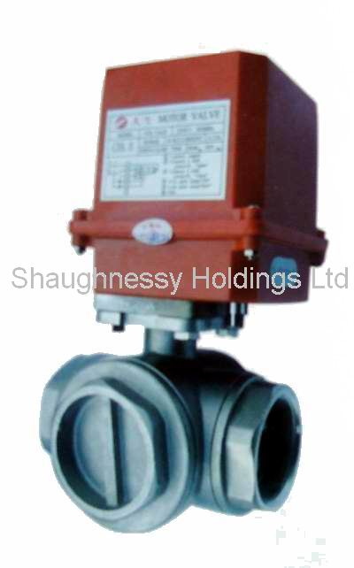 3-way Motorized Ball Valve