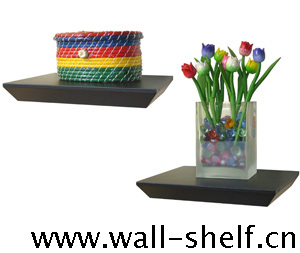 wall mounted display shelf