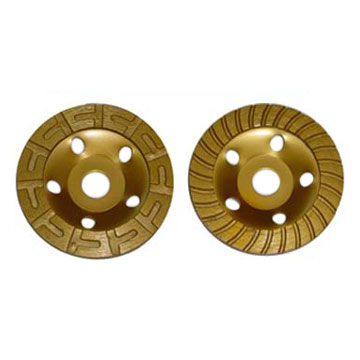 Turbo Diamond Cup Wheel 125mm