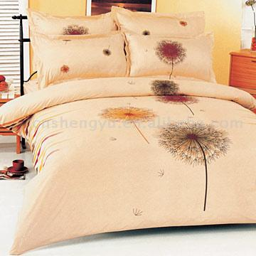 100% Cotton Printed 4pc Bedding Sets