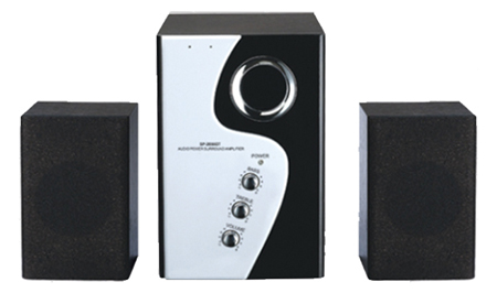 2.1 channel active speaker system