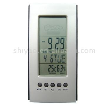Thermometer Humidity Calendar with Weather Station