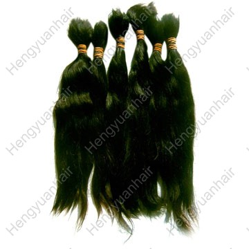 100% India/Chinese single drawn remy hair