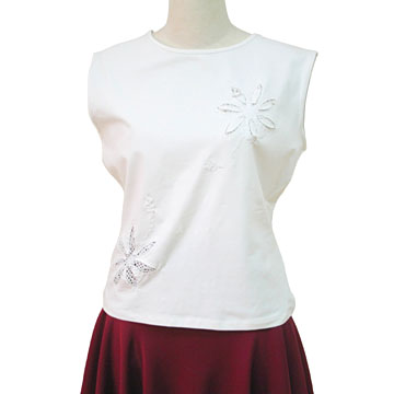 Ladies' Short Sleeve Blouses