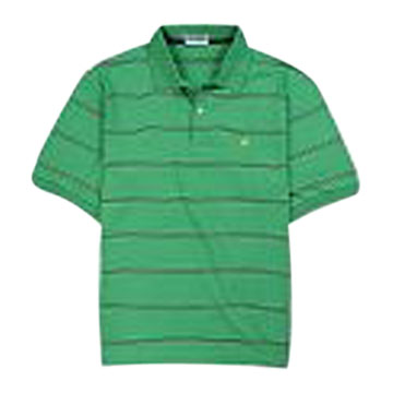 Men's Yarn Dyed Stripe Polo