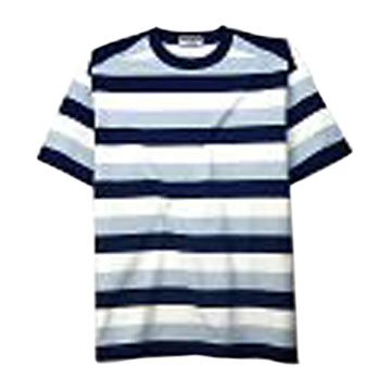 Yarn Dyed Stripe T-Shirts