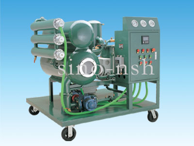 sino-nsh dirty insulation oil recycling machine
