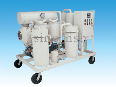 Sino-nsh TF Used Oil Purification plant