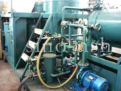 Sino-nsh GER Used Engine Oil Purifier plant