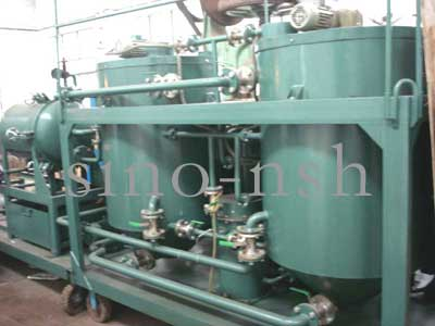 NSH GER used engine oil purifier system