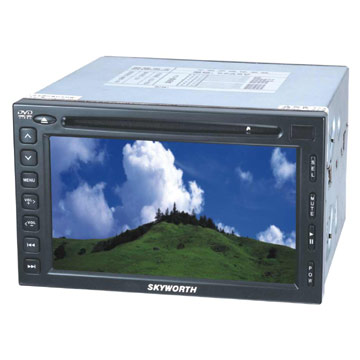 6.5 Double DIN DVD Players
