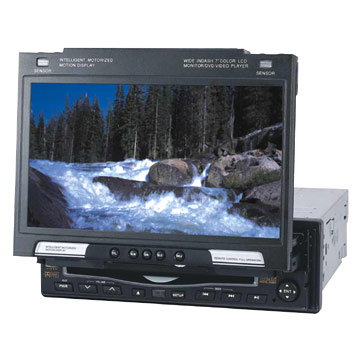 7 One DIN In-Dash DVD Player and Monitors