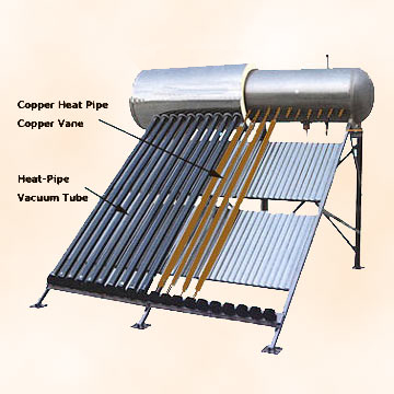 Pressurized Stainless Solar Water Heaters