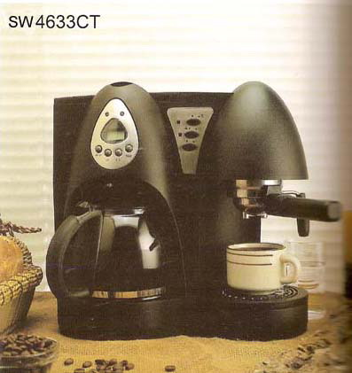 Combination Coffee Maker