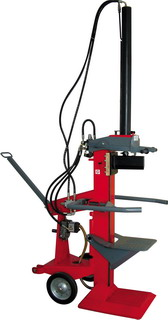 verticol log splitter