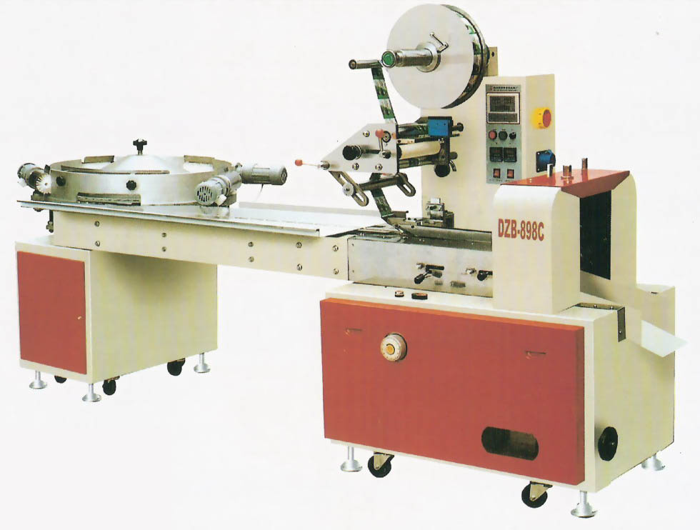 DZB-898C High Speed Automatic Pillow Type Candy Packing Machine