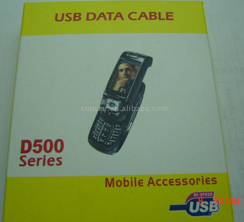 USB Data Cable for Samsung D50