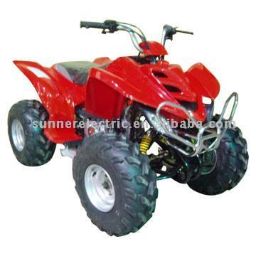 ATV With Shaft Drive Transmissions